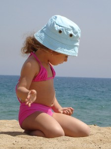 little girl by ganessas