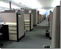 i love cubicles by Tim Patterson