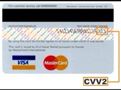 CVV code