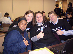 United Way tax prep volunteers help hard-worki...