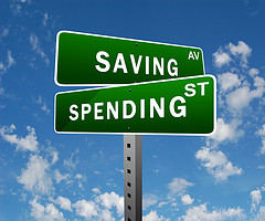 saving and spending