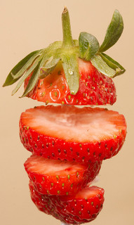 Separated Strawberry